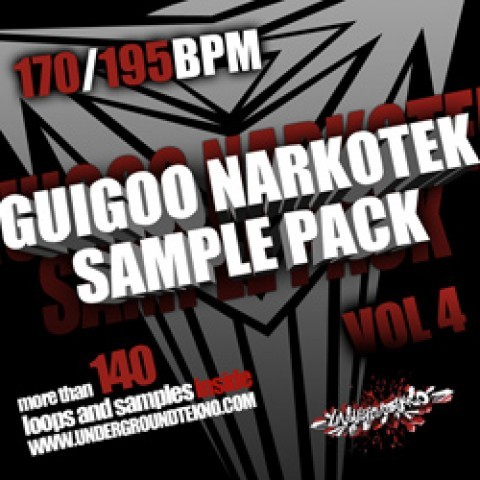 Packs de samples - Guigoo Narkotek Sample Pack
