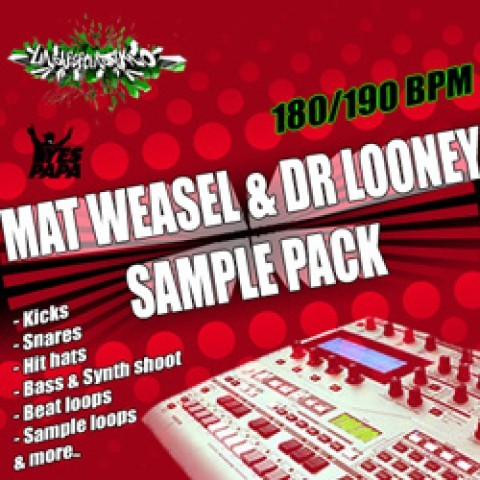 Packs de samples - Mat Weasel Vs Dr Looney Sample Pack